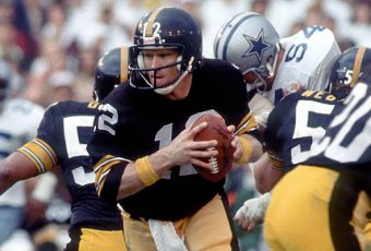 Terry Bradshaw Gets It, Gets Out (Super Bowl X)