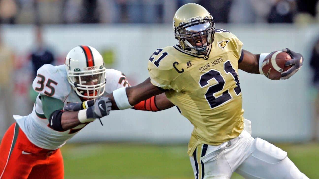 Calvin Johnson Georgia Tech