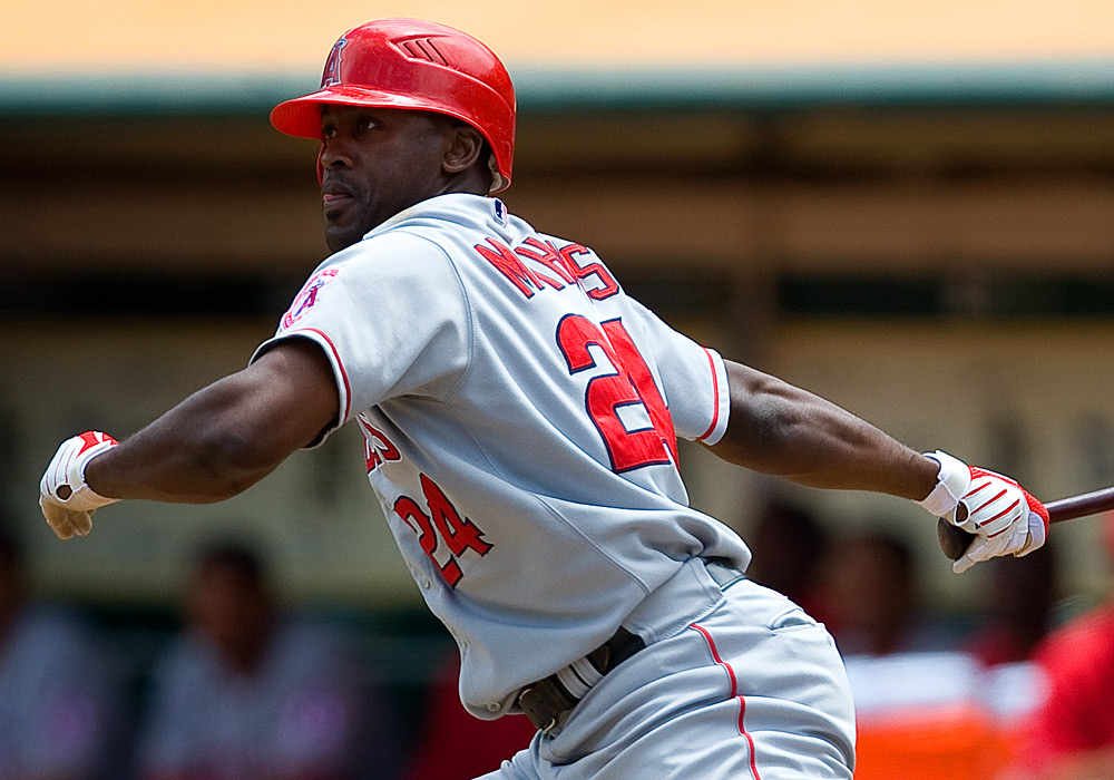 Gary Matthews Jr Los Angeles Angels