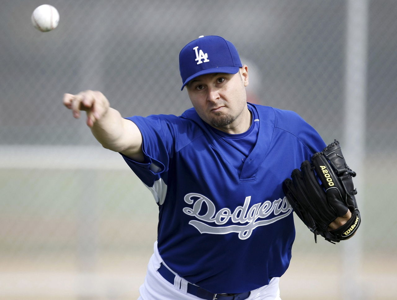 Jason Schmidt Los Angeles Dodgers