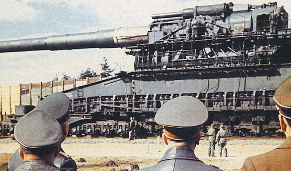 Germanys Railway Gun