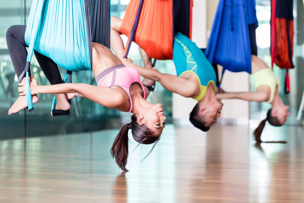 This Is Why You Should Give Aerial Yoga A Try