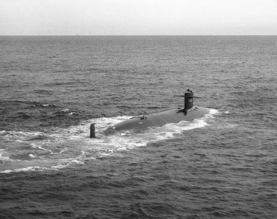 USS Thresher SSN 593