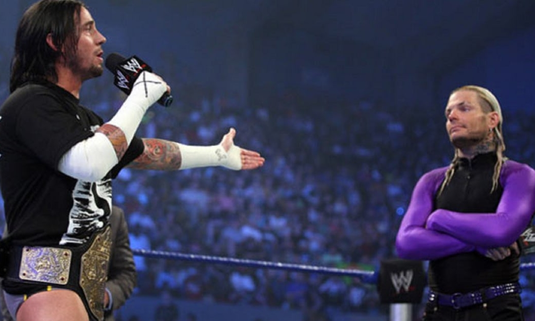 CM Punk And Jeff Hardy