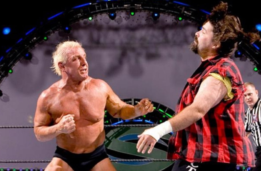 Mick Foley And Ric Flair