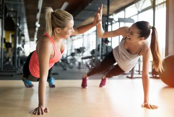 The Benefits Of Exercising With A Partner
