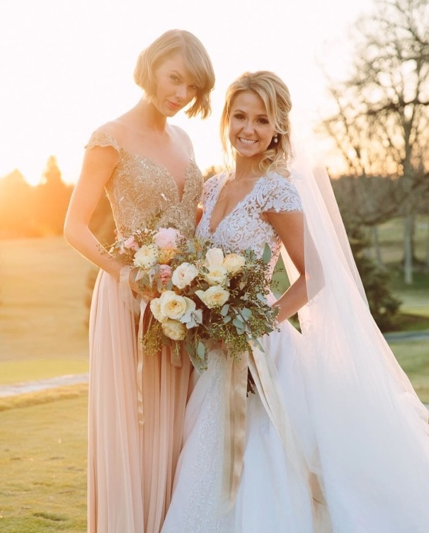 Taylor Swift As Bridesmaid
