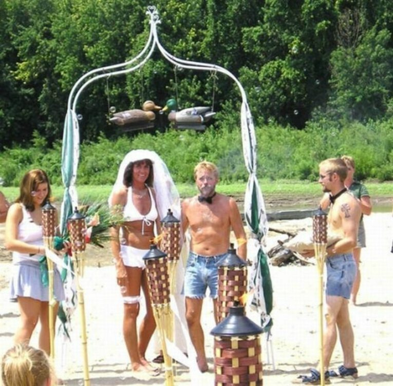 Different Kind Of Beach Wedding