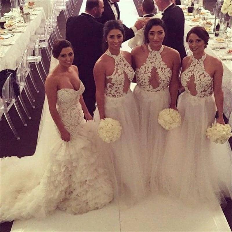Bridesmaids Looking Like Brides